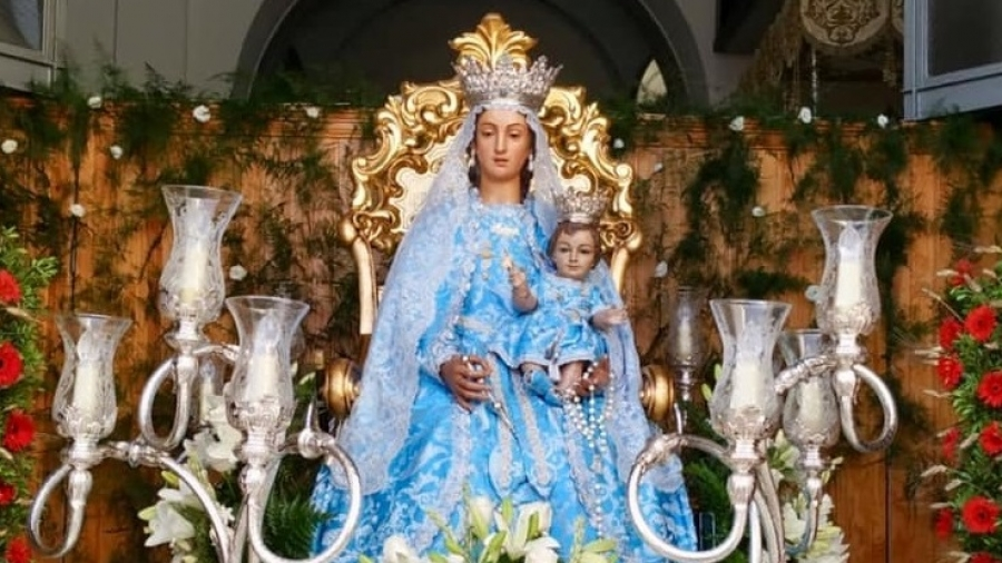 Verbena honor Virgen de Gracia 2019 parallax